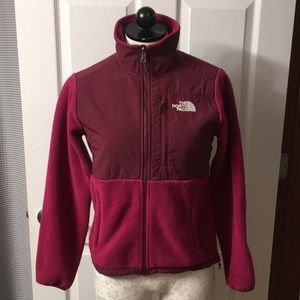 Magenta North Face Jacket Women's XS